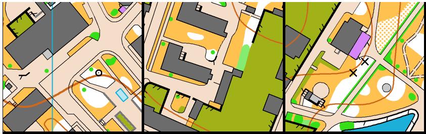 Výřezy z mapy